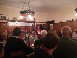 Führte souverän durch die Versammlung: Elisabeth Jordan, Vorsitzende SPD Rosenheim Stadt und Bezirksrätin