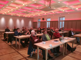 Intensive Diskussionen: SPD-Mandatsträger aus der Region