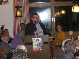 """Franz Josef Sammer (Riedering): """"Es ärgert mich, wenn Parteifreie behaupten, Parteien hätten in der Kommunalpolitik nichts verloren. Wir sind berechenbar! Wir blicken über den Tellerrand hinaus und haben einen Kompass. Das braucht auch Politik vor Ort."""""""