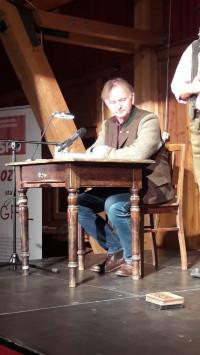Unterhielt das Publikum köstlich: Thoma-Interpret Michael Lerchenberg