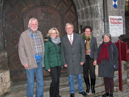 Kohnen Wasserburg Empfang Rathaus