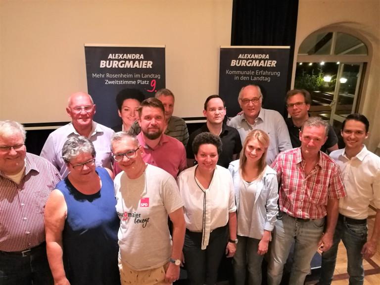 Kreisvorstand 2018 Gruppenbild