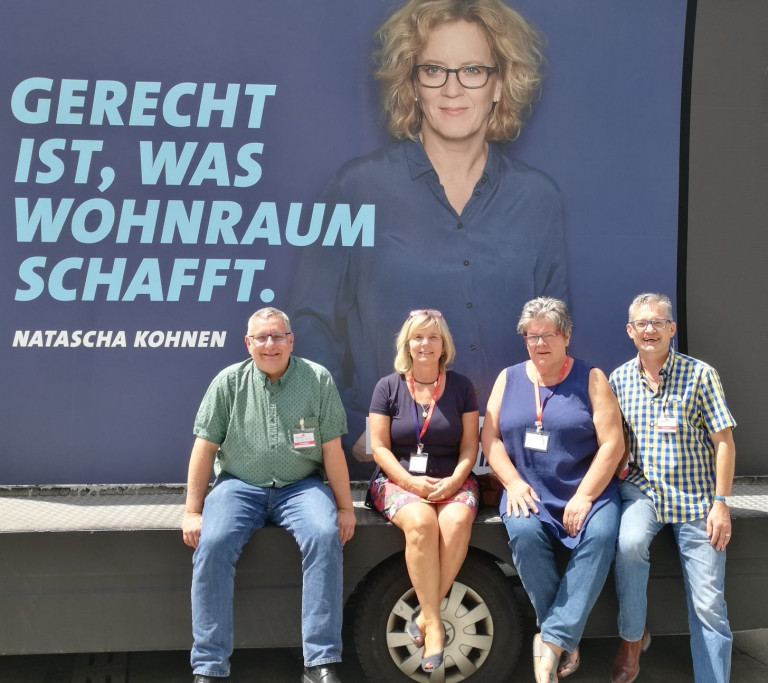 In der schönen Oberpfalz: die Rosenheimer Delegierten
